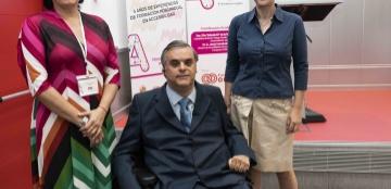 Foto de familia de la inauguración de la Semana Internacional de la Accesibilidad