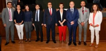 Foto de familia de la inauguración del Congreso CNLSE