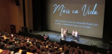 Foto del coloquio 'Máis ca vida: Cine y diversidad'