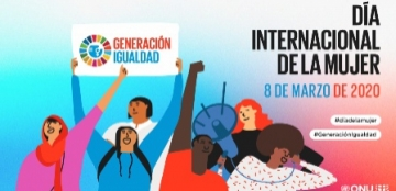 Ilustración de ONU Mujeres con motivo del Día Internacional de la Mujer 2020