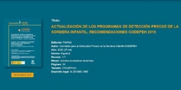 Imagen de la portada del documento y datos de la publicación