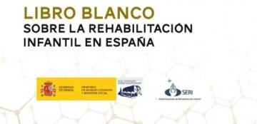 Portada del Libro blanco de la rehabilitación infantil en España