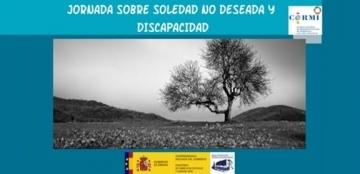 Cartel de la Jornada sobre soledad no deseada y discapacidad