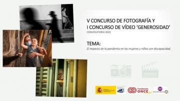 Imagen de las tres fotografías ganadoras del concurso Generosidad, con título y tema de la actual convocatoria