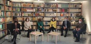 Foto de familia de la presentación del V Estudio Universidad y Discapacidad