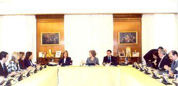 Foto de la 22ª Reunión del Consejo del Real Patronato sobre Discapacidad
